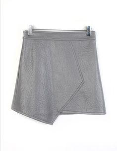 레더언발랩,skirt