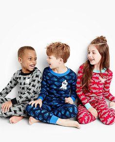 Kids DC Comics™ Batman Glow In The Dark Long John Pajamas by Hanna Andersson