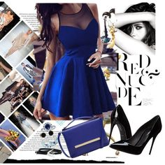 what color shoes to wear with blue dress 6