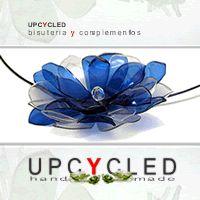 Upcycled Taller ecofriendly bisutería y complementos de moda creados con materiales reciclados
