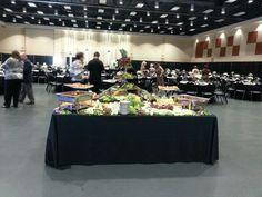 """Awards banquet """"13 fruit display"""