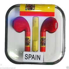 Auriculares Manos Libres Micro / Volumen Copa Del Mundo para iPhone 4 4S 5 5S 5C