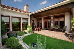 Spanish Colonial Luxury Patio Home mediterranean patio