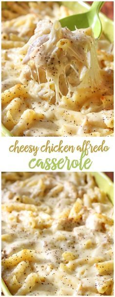 Alfredo Pasta Bake DELICIOUS Cheesy Chicken Alfredo Casserole - one of our favorite dinner recipes!DELICIOUS Cheesy Chicken Alfredo Casserole - one of our favorite dinner recipes! Pasta Dishes, Food Dishes, Main Dishes, Pasta Food, Chicken Alfredo Casserole, Pasta Alfredo, Baked Chicken Fettuccine Alfredo Recipe, Crockpot Chicken Alfredo, Cheesy Chicken Spaghetti