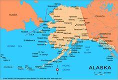 cool Alaska Map