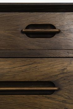 Ejvind A. Johansson chest of drawers at Studio Schalling Simple Furniture, Funky Furniture, Wood Furniture, Furniture Design, Kitchen Furniture, Chest Of Drawers Design, Drawer Design, Drawer Handles, Wooden Handles