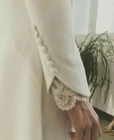 haute couture fashion Archives - Best Fashion Tips Kurti Sleeves Design, Sleeves Designs For Dresses, Sleeve Designs, Blouse Designs, Couture Details, Fashion Details, Fashion Design, Fashion Tips, Hijab Fashion