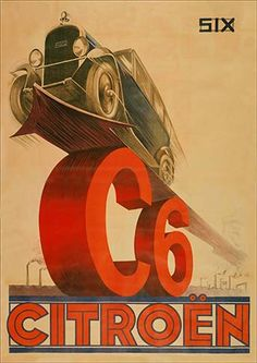 23493. - AUTO - CITROËN - SIX - C6 - 29x41-.