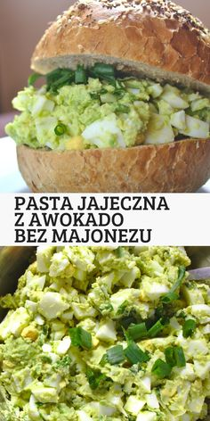 Najlepsza pasta na śniadanie do pieczywa. Pasta jajeczna z awokado i bez dodatku majonezu. Lekka, świeża i pyszna pasta do chleba. Fruit Recipes, Appetizer Recipes, Easy Cooking, Cooking Recipes, Healthy Meals Delivered, Best Nutrition Food, Pasta, Healthy Recepies, Good Food