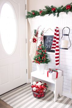 A Bucket With Ornaments for Welcoming Entrance.