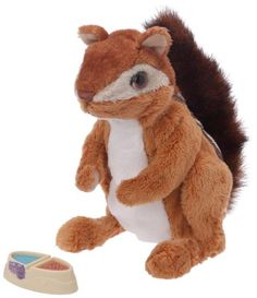 FURREAL FRIENDS NEWBORN CHIPMUNK SQUIRREL ELECTRONIC PET TOY NEW ** To view further for this item, visit the image link.Note:It is affiliate link to Amazon.