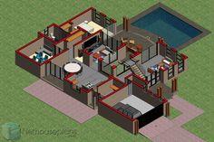 Beautiful 5 Bedroom House Plans With Photos [480sqm] NethouseplansNethouseplans