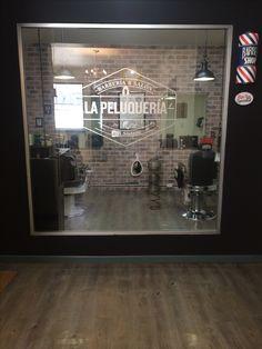Barbershop. Peluquería mexicana.