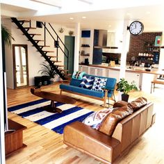 Interior Design, Renovation, Decoration, Furniture - archiparti is an award-winning interior design management service for go-getters. Japanese Home Decor, Japanese Interior, Style At Home, Casa Loft, Small Apartment Design, Boho Home, Scandinavian Interior Design, Home Decor Furniture, House Rooms