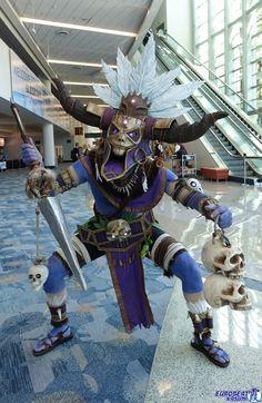 Diablo 3: Witch Doctor Cosplay by CasteelArt on DeviantArt