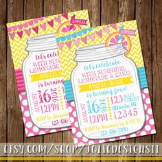 Hey, I found this really awesome Etsy listing at https://www.etsy.com/listing/271245208/aqua-pink-yellow-mason-jar-lemonade