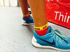 Never Giving up socks from Inspyr socks. Come find your message at inspyr socks. Always free shipping. #socks