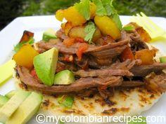 Carne Desmechada o Ropa Vieja   My Colombian Recipes