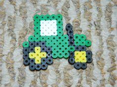 Tractor perler beads by Emopunk23