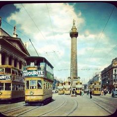 "@Chris Sammon's photo: ""Dublin 1930's #dublin #ireland #irish #olddublin #oldschool #olddublinphoto #tram #trainspotting #oconnellstreet #nelsons #pillar #GPO #retro #bringmeback"" Dublin Ireland, Cn Tower, 1930s, Vintage Photos, Old School, Past, Irish, Street View, Retro"