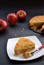 Sabor: Μηλόπιτα / Apple crumble pie Apple Crumble Pie, Apple Pie, Apple Chips, Sweets Recipes, Recipies, Muffin, Good Food, Food And Drink, Cookies