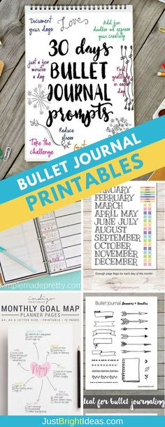 No time (or creative energy) to replicate all of the amazing bullet journal layouts youve been drooling over? Check out these bullet journal printables that you can use to fill your BuJo! Bullet Journal Teacher, Bullet Journal Prompts, Bullet Journal Printables, Bullet Journal How To Start A, Journal Template, Bullet Journal Spread, Bullet Journals, Bullet Journal Layout Daily, Bujo