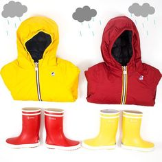 Nothing better than a #kway and rain boots #aiglefr for the Rainy day @kway_official  @aiglefr #aigle #eagle #yellow #red #rain  #pluie #fashion #maralexkids #kids #kidsfashion #kway #cool #instadaily #photooftheday #color #colorful #style