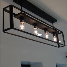 Tiffany & Co. Iron Furniture, Steel Furniture, Industrial Furniture, Furniture Design, Home Lighting, Modern Lighting, Lighting Design, Ceiling Light Design, Ceiling Lamp