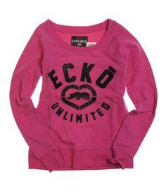 abf4d5270498 Ecko Unltd. Womens French Terry Satin Knit Sweater berry L