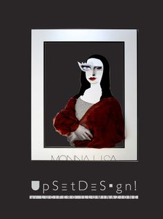 #Monalisa #Gioconda #lucifero #torino #upsetdesign #upset-design #lamps #illuminazione #turin #interior_design #home_decor #comics #Art