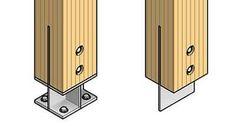 Parametric Timber Connections for Revit - Diy Timber Pergola, Timber Screens, Timber Roof, Timber Beams, Wood Columns, Steel Columns, Steel Beams, Wood Steel, Timber Frame Garage