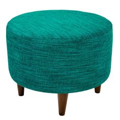 MJL Furniture Sophia Lucky Round Upholstered Ottoman