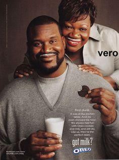 2011 magazine ad GOT MILK Shaquille O'Neal SHAQ basketball player rapper analyst