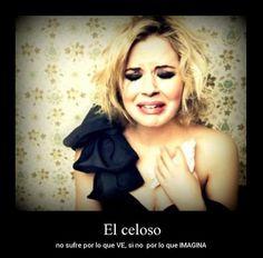 El celoso - Carteles de amor - http://www.fotosbonitaseincreibles.com/el-celoso-carteles-de-amor/