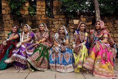 Navratri festival in Ahmadabad, India via @Connie Hamon Brzowski Talkmitt Durené Nast Traveller magazine