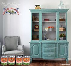We love to see all the creative custom mixes made with GF Milk Paint! Helen Nichole Designs, http://helennicholedesigns.com/ came up with a gorgeous combo of Lamp Black, Basil, Halcyon Blue, Corinth Blue & Emerald Green.  We'd love to see your projects made with General Finishes products! Tag us with @GeneralFinishes and make sure to let us know which products you used! #generalfinishes #gfmilkpaint #customcolor