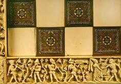 Ivory board depicting musicains in a garden, French 1415