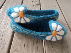 PDF Slipper Pattern Summer Slippers Felted Knit for Women