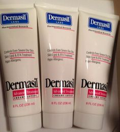 Dermasil Advanced Treatment Creamy Lotion - Dry Skin Moistuizer & Protectant, 8 Oz (3 Pack) Dermasil http://www.amazon.com/dp/B00IVZDCP6/ref=cm_sw_r_pi_dp_RQfjvb0B777WS