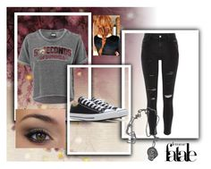 """5sos concert"" by chewygames138 on Polyvore featuring River Island, Converse and Brian Yates"