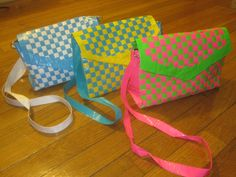 Woven Duck Tape Purse.