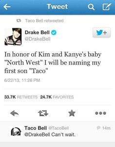 Drake Bell is great man