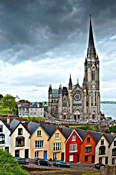 FotoSt Colman's Cathedral, Cobh, Munster, Ireland