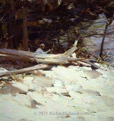 """Richard Schmid, """"ROSE FRANTZEN PAINTING"""" Door County Peninsula, Wisconsin 1987, oil on panel, 12x18 Door County, Painted Doors, Wisconsin, Painters, Artist, Outdoor, Oil, Outdoors, Artists"""