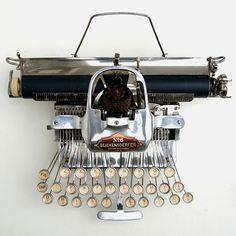 George Canfield Blickensderfer; #6 Blickensderfer 'Blick Featherweight' Typewriter, 1906.