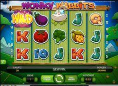 Zögern Sie nicht und versuchen Sie dieses einzigartige Slot-Spiel!  http://www.spielautomaten-kostenlos.com/spiele/spielautomat-wonky-wabbits #spielautomaten #wonkywabbits #spiele