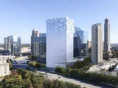 Buckhead Atlanta - Proposed Buckhead Tower To Have Magic Glass Walls!