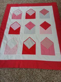 Envelope Block - Simplified Foundation Piecing Tutorial ... : envelope quilt pattern - Adamdwight.com