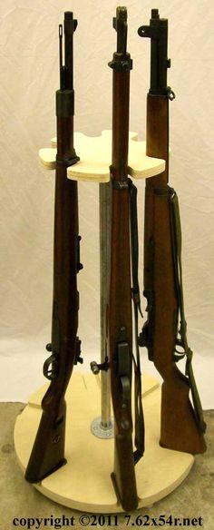 Rotary Gun Racks