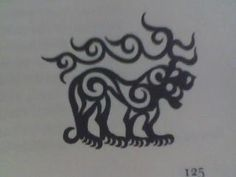 Scythian tiger(I have this as a tattoo)
